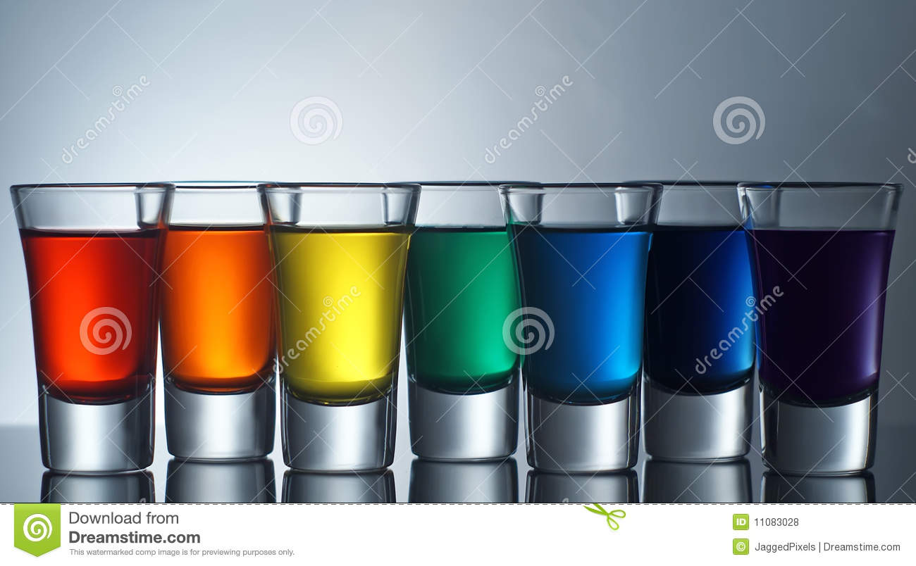 Rainbow Shots Stock Photo Image Of Colorful Multi