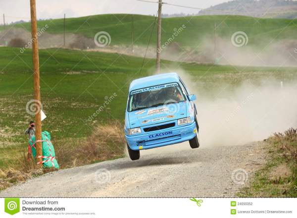 Rally car jumping editorial photography Image of drifting