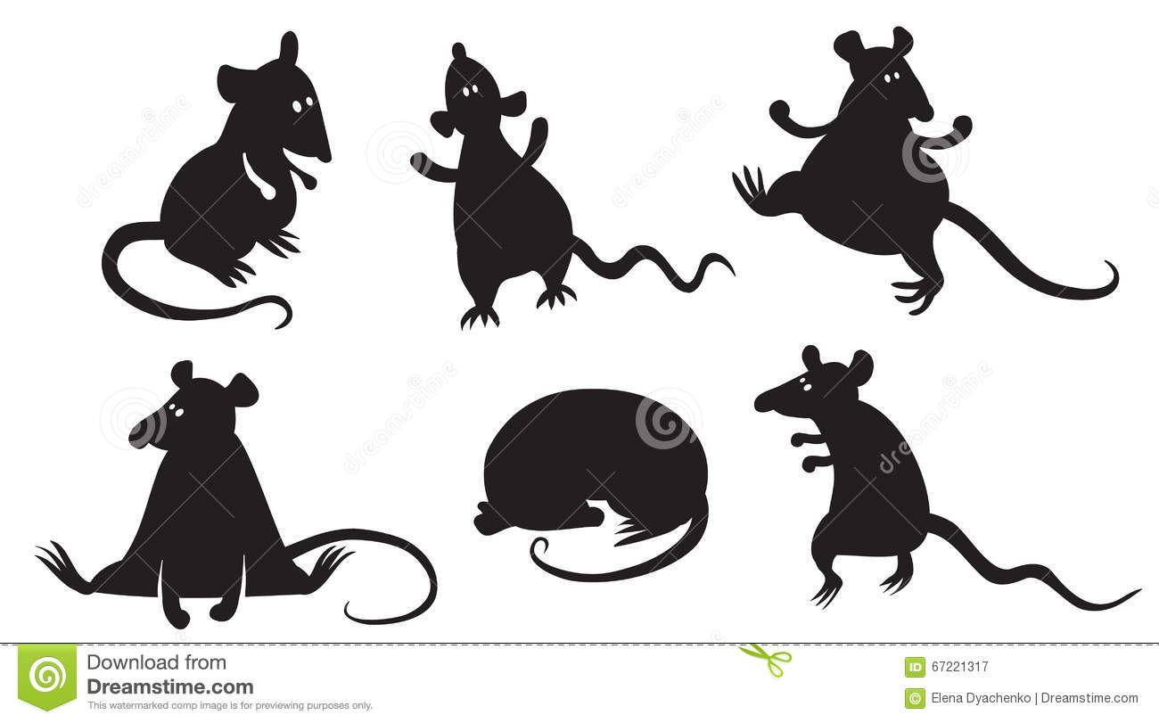Rats Stock Vector Illustration Of Sticker Nature
