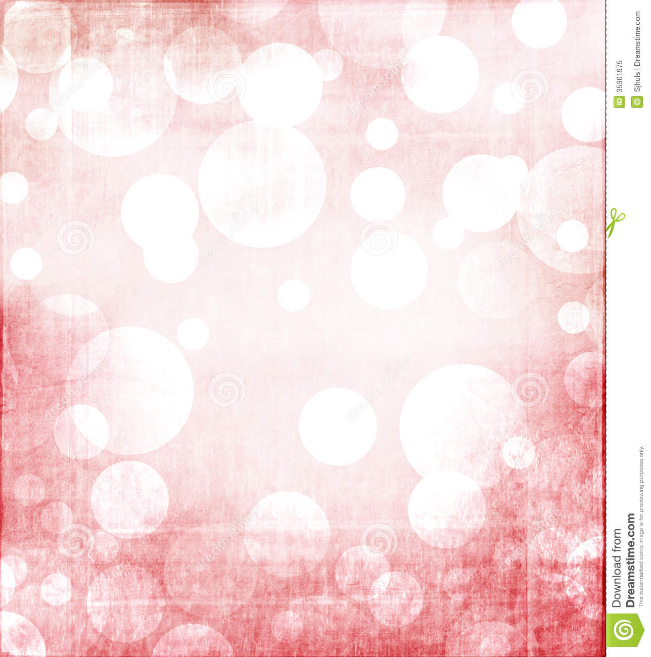 Red Christmas Bokeh For Background Royalty Free Stock