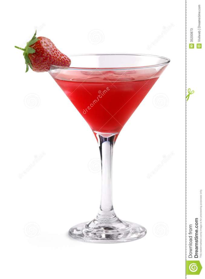 Red cocktail stock image. Image of lounge, close, cosmo