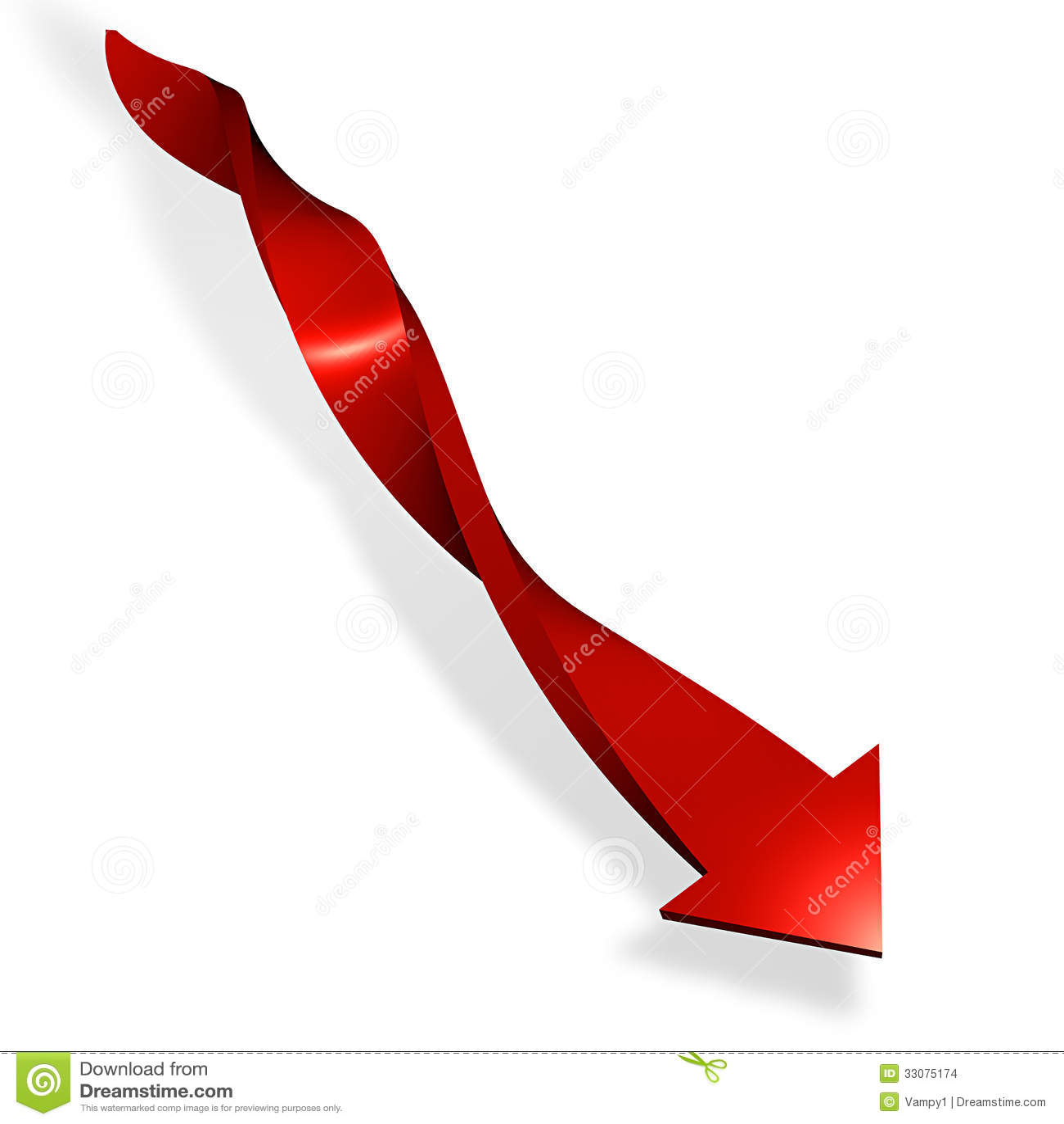 Green Arrow Red Arrow Down