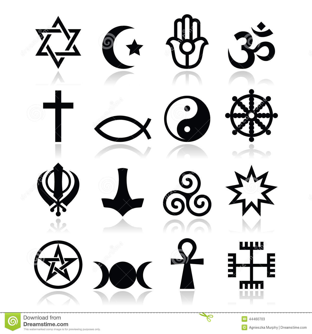 Religion Of The World Symbols