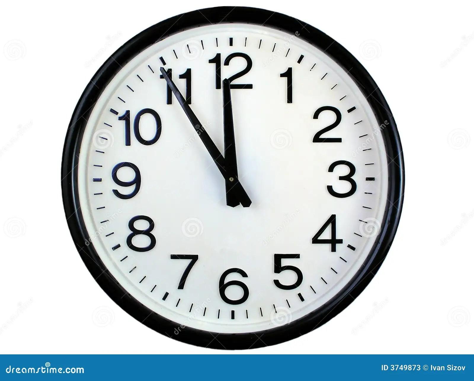 Reloj De Pared Redondo Imagen De Archivo Imagen De