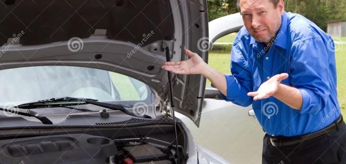 Repair Broken Car Stock Image Image Of Broken Automobiles 30871345