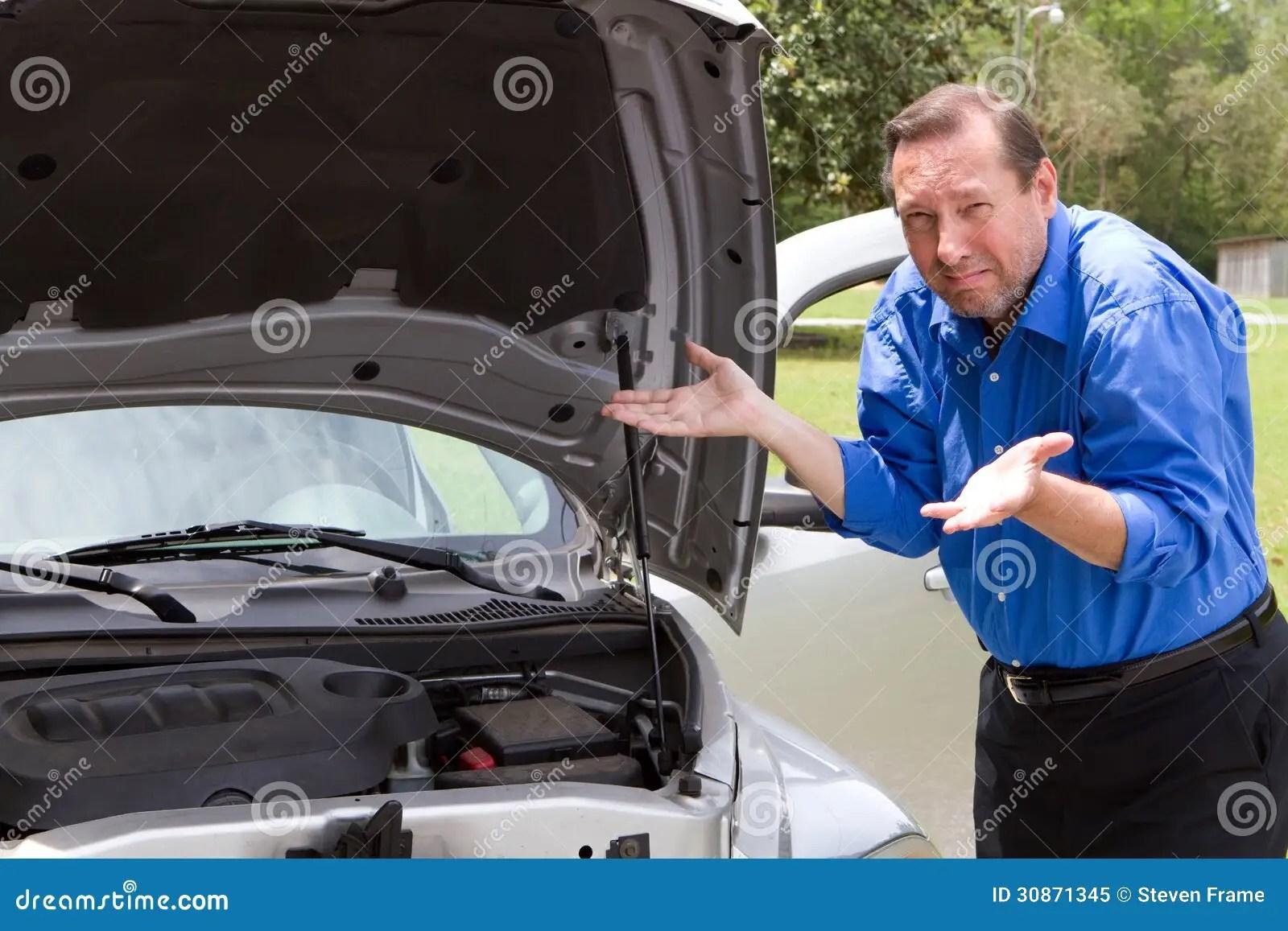 Repair Broken Car Stock Image Image Of Broken