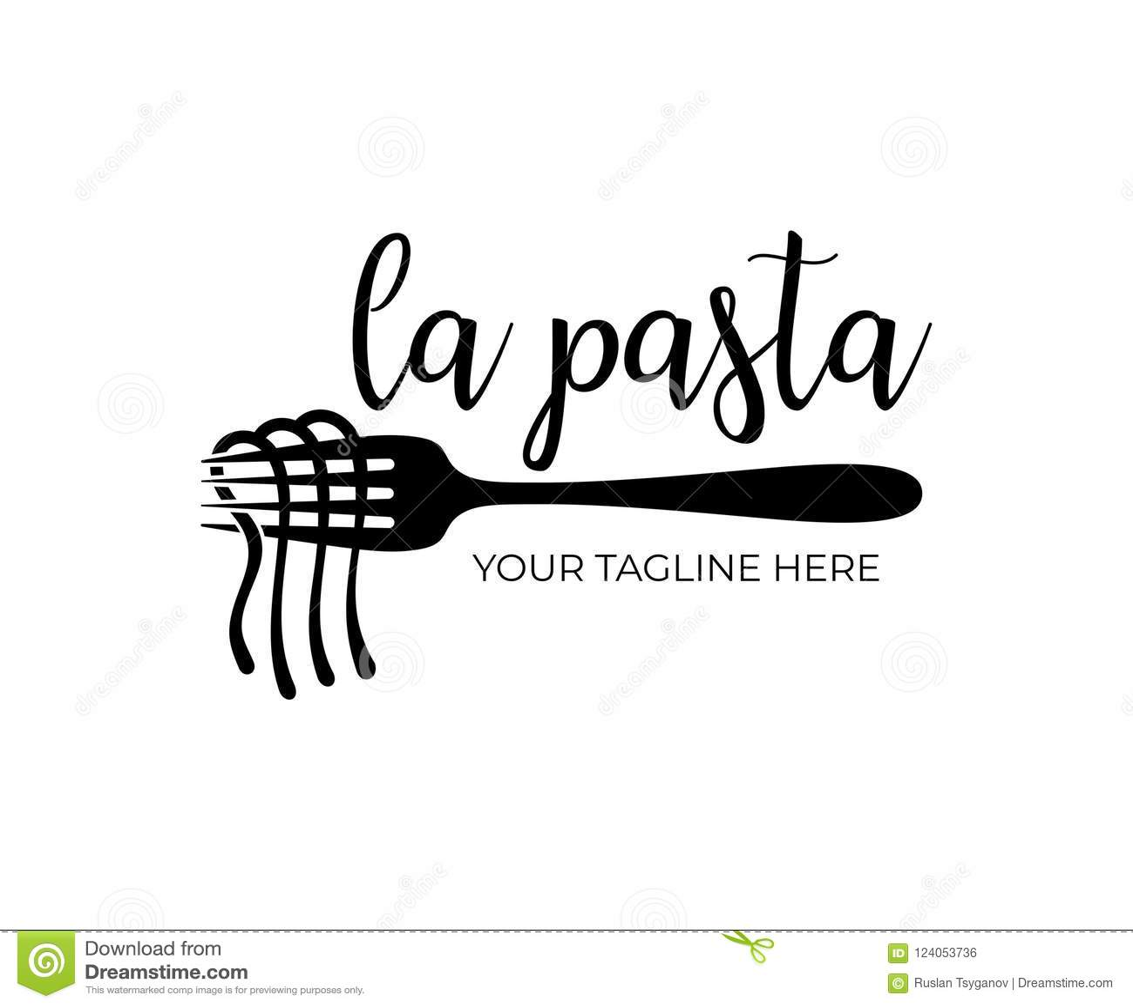 Italian Chef Cook With Spaghetti Cartoon Vector