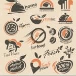 Restaurant Logo Design Collection Stock Vector Illustration Of Fresh Idea 45395999