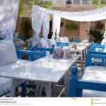 A Restaurant Table Layout At An Arabic Outdoor Cafe Editorial Image Image Of Breeze Outdoor 47959425