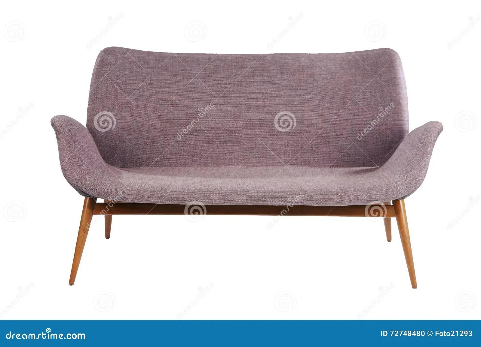 Retro Style Sofa Sixties Antique Stock Photo Image 72748480