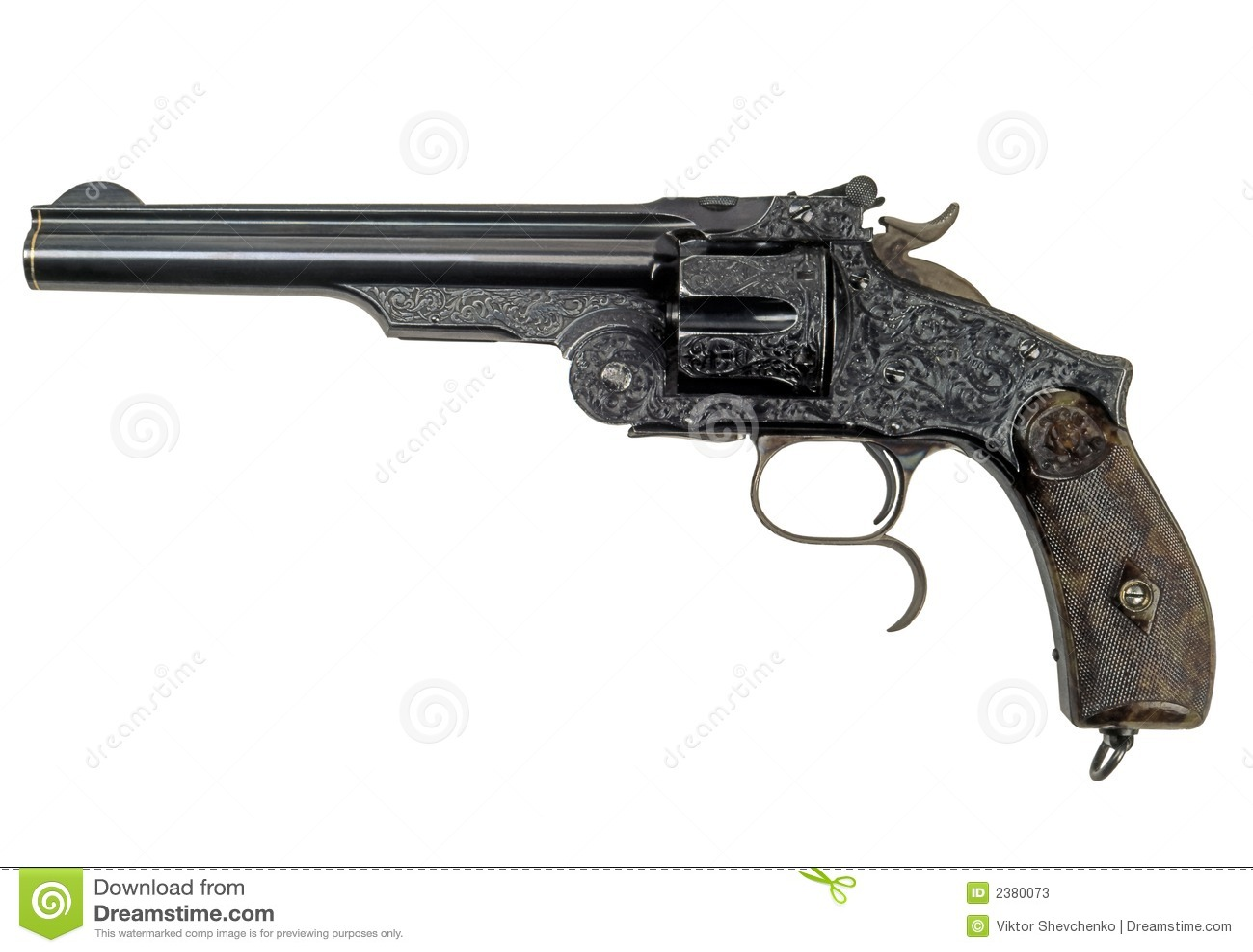 Revolver Retro 1 Stock Image Image Of Small Revolver