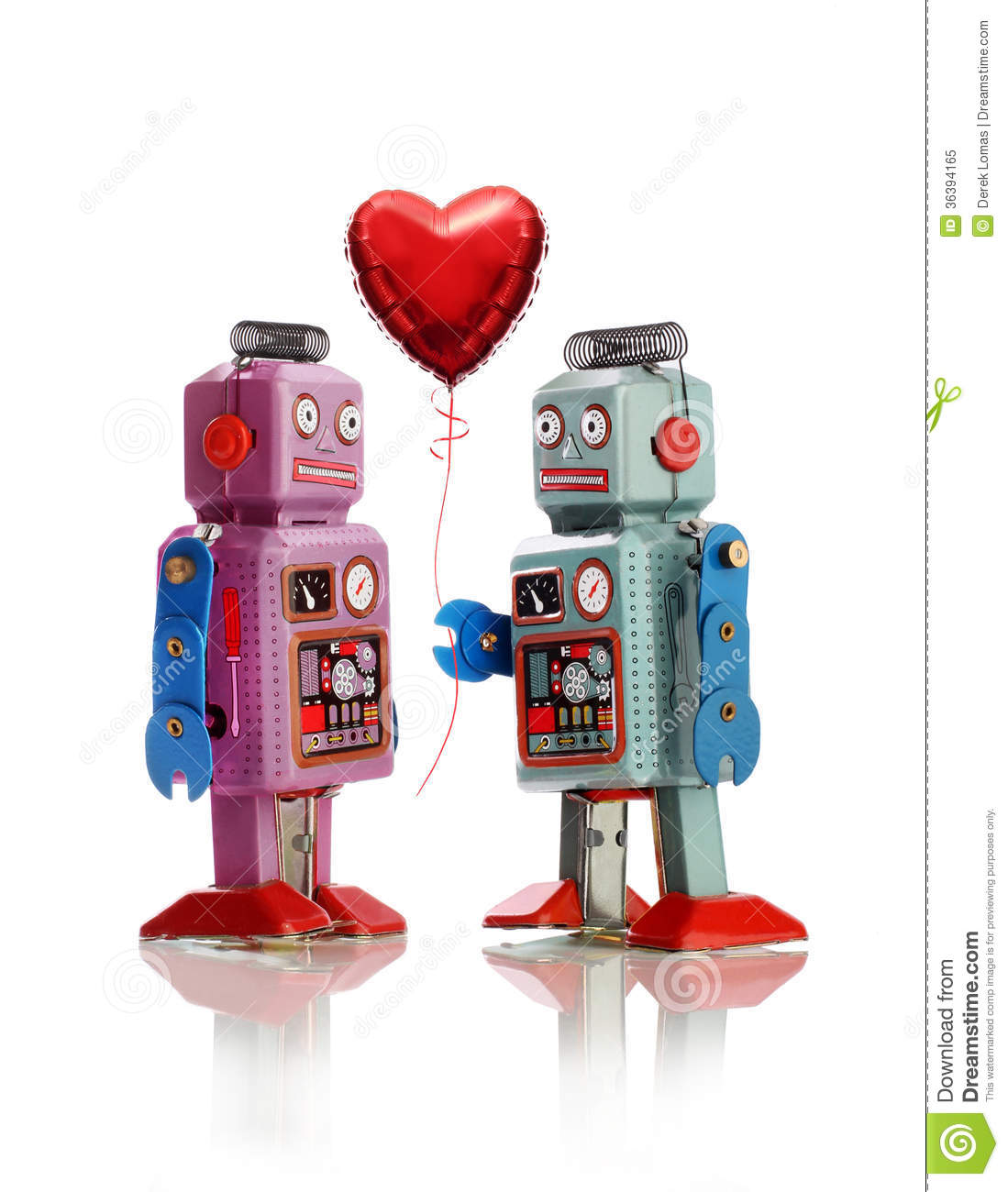 Robot Love Royalty Free Stock Photo Image 36394165