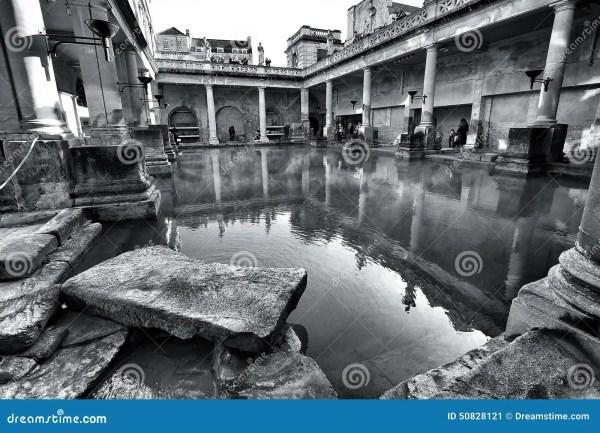 Roman Bath Stock Photo - Image: 50828121