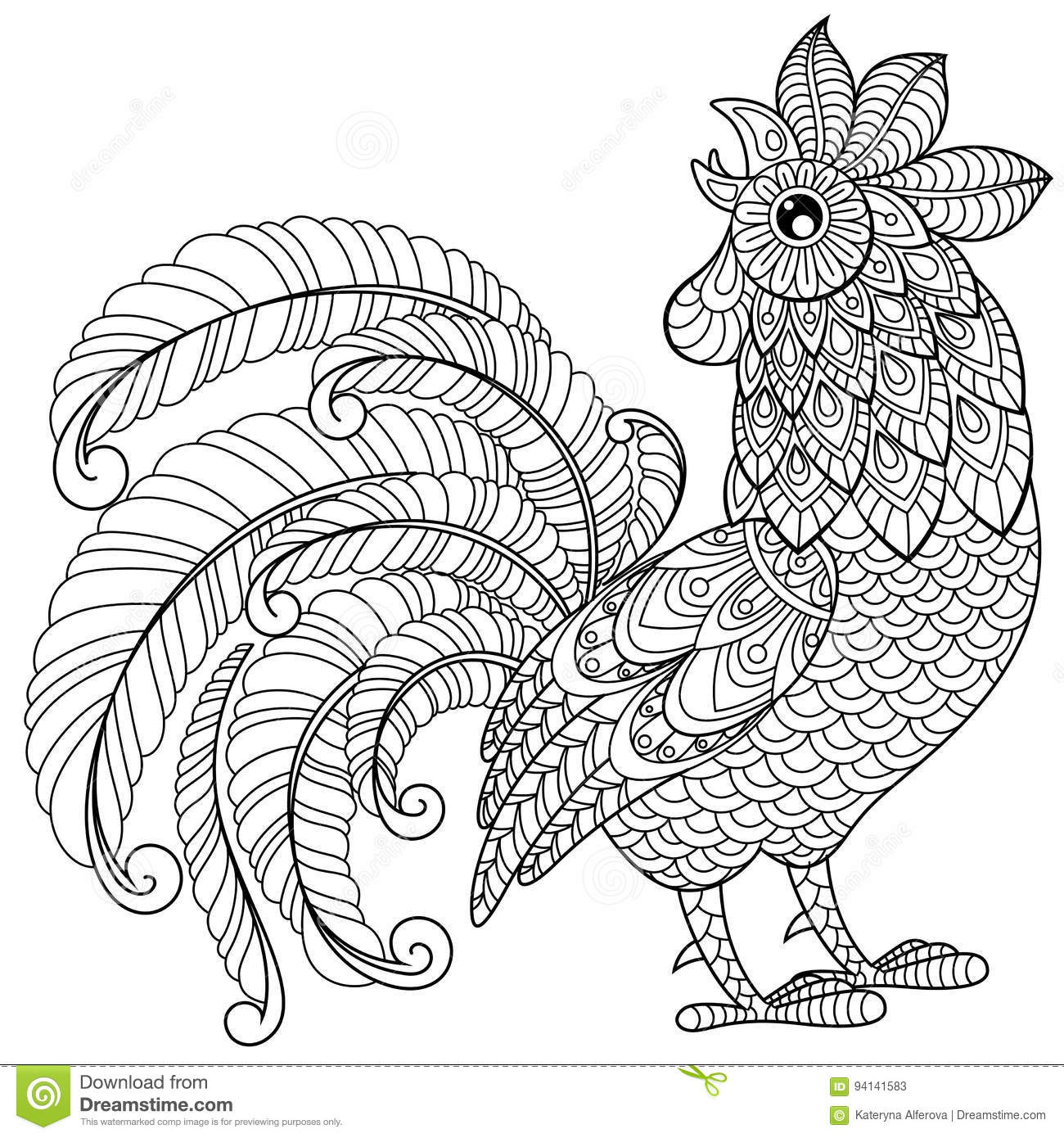 Adult Coloring New Year Coloring Pages