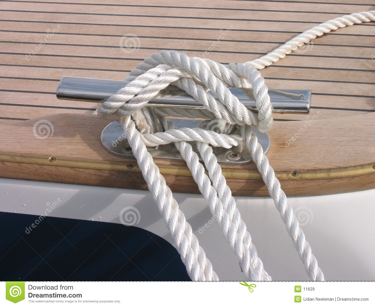 Rope Of Sailing Boat Royalty Free Stock Images Image 11629