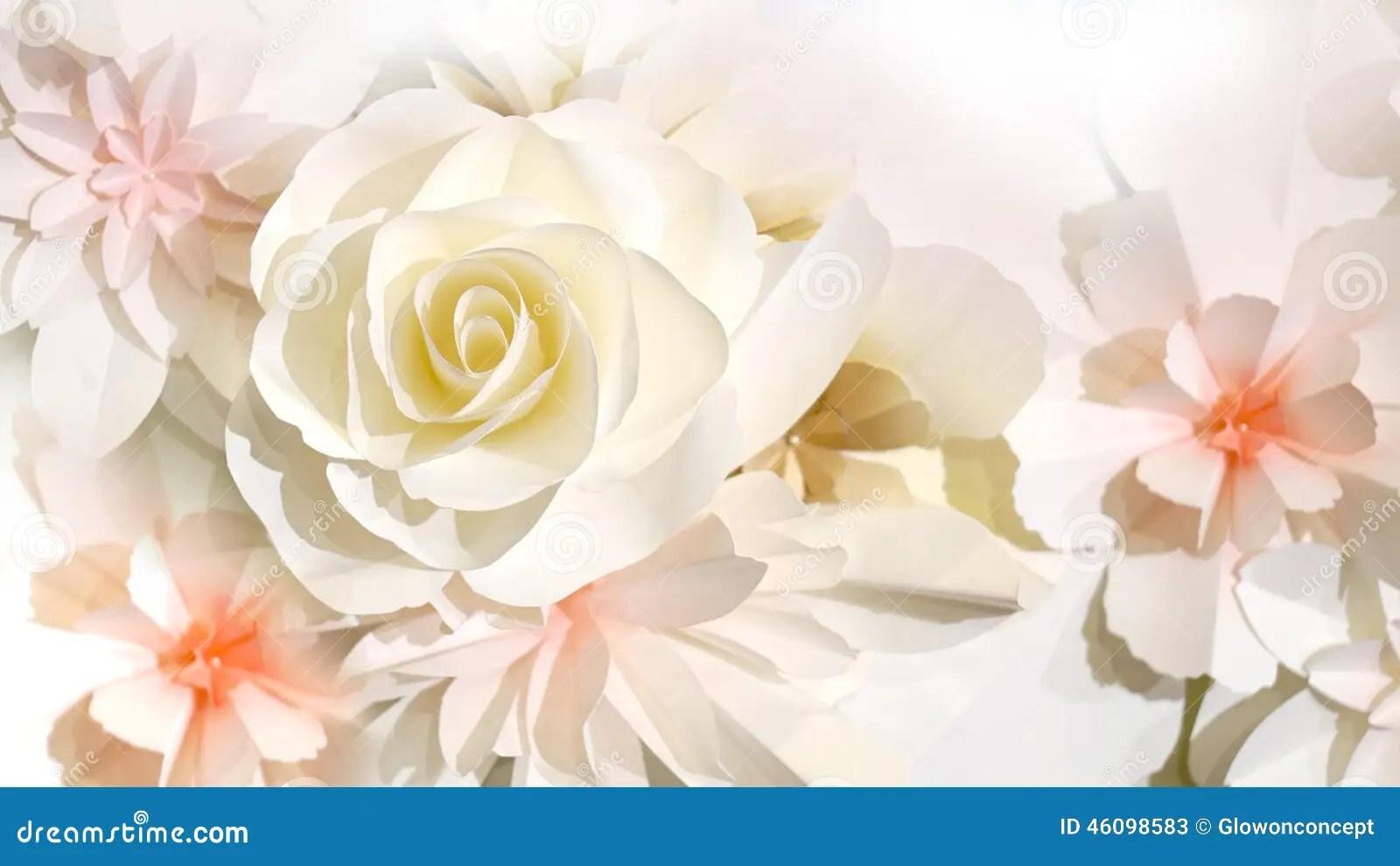Roses Flower Wedding Background Stock Photo Image 46098583