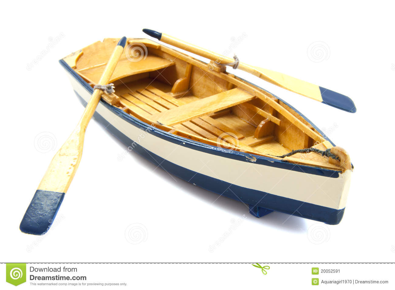 Row Boat Stock Image Image Of Open Haulage Blue Marine