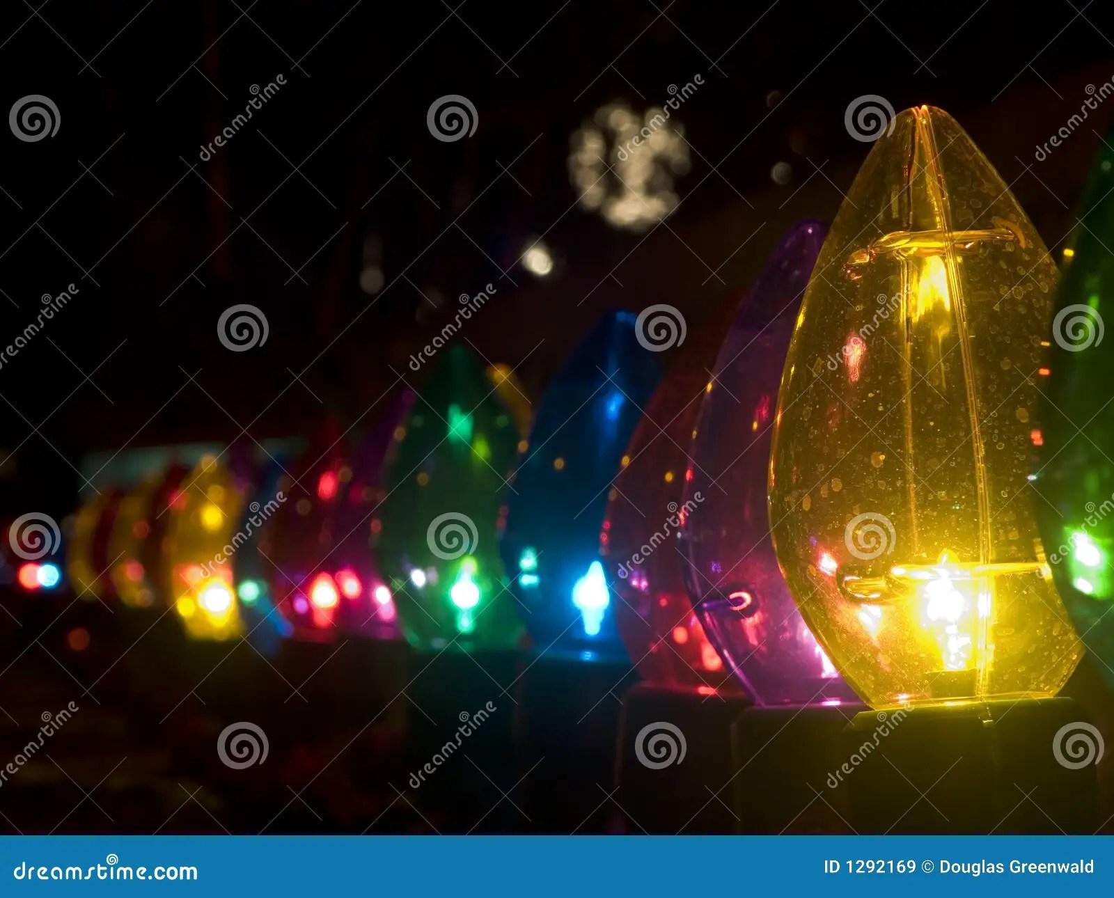 Christmas Lights Big Bulbs