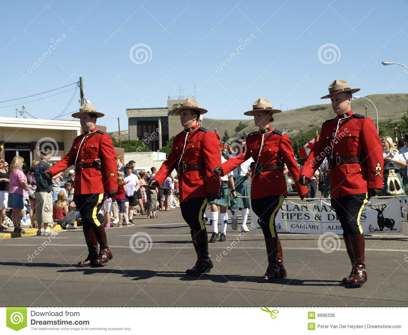 Royal Canadian Mounted Police Editorial Photo
