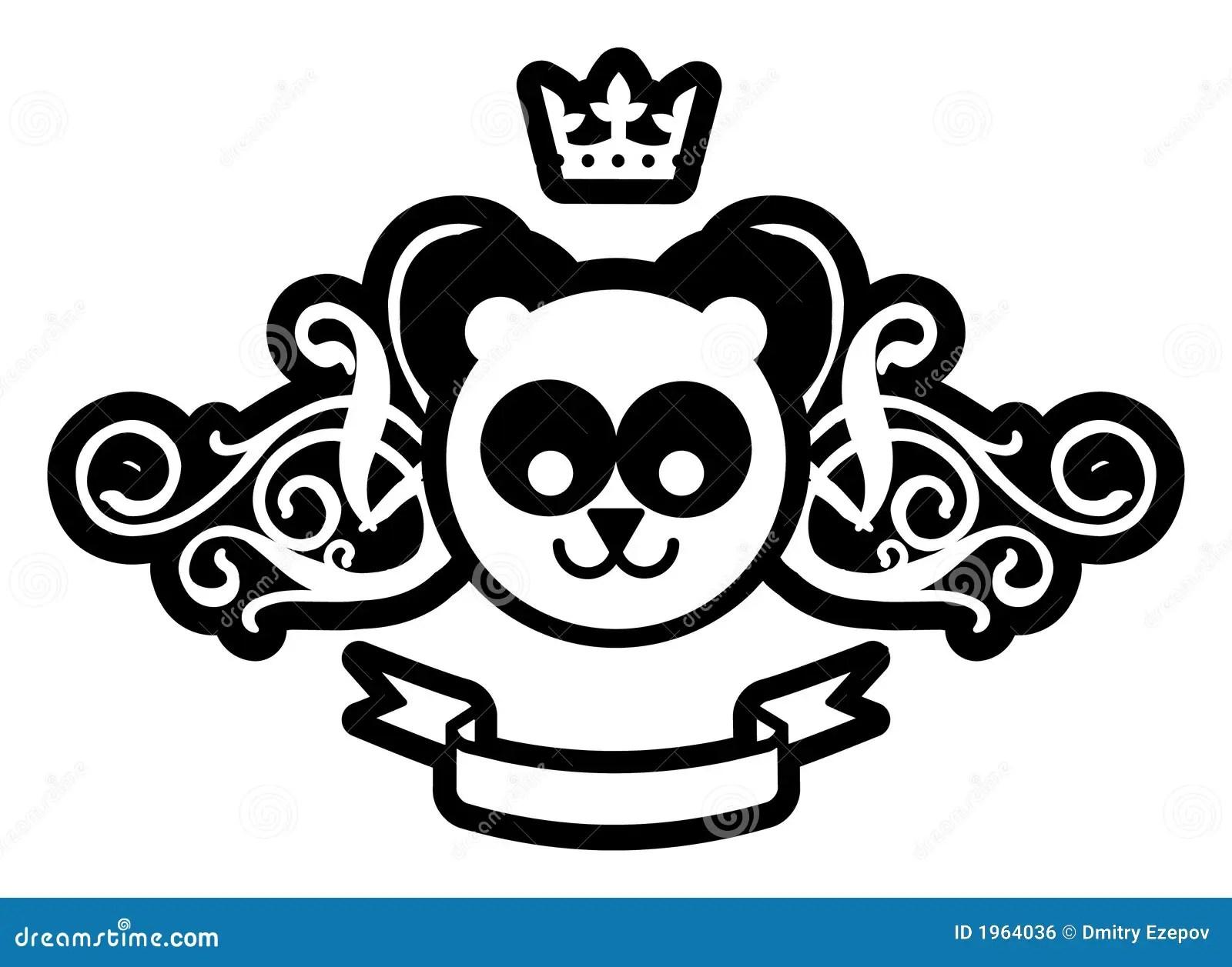 Pin Panda Emblem