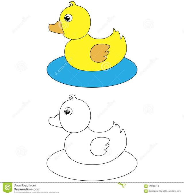 Rubber duck on water stock photo. Illustration of blue - 28