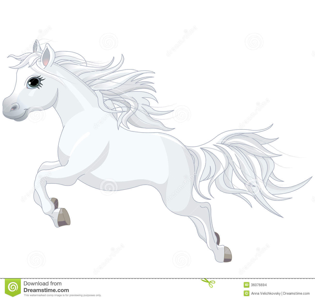 Running Horse Stock Vector Illustration Of Icons
