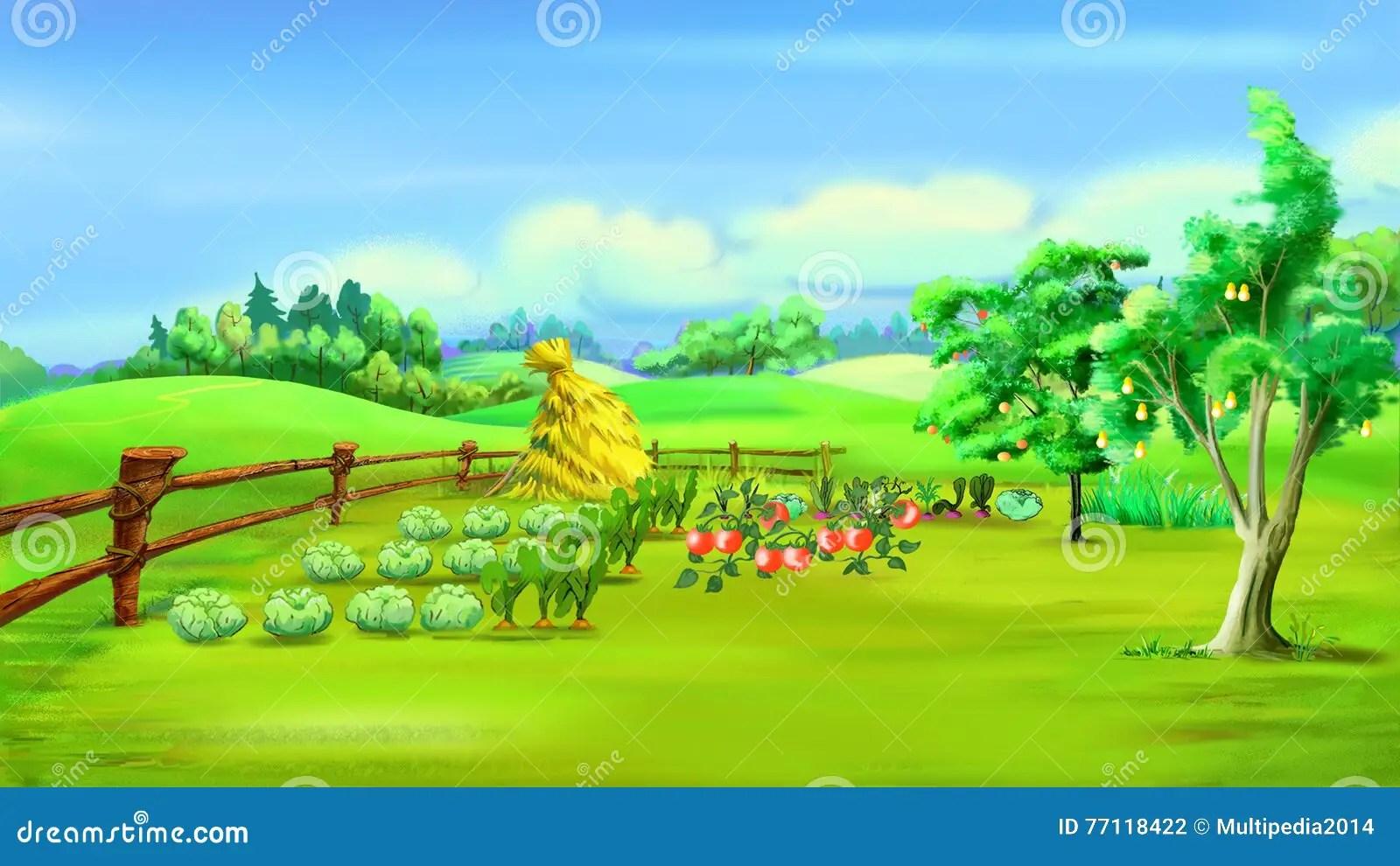 Vegetable Garden Layout Template