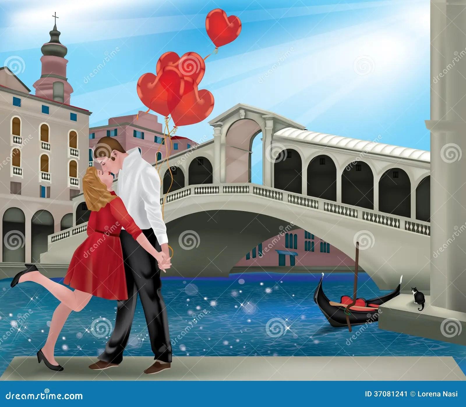 Saint Valentine In Venice Stock Image Image 37081241