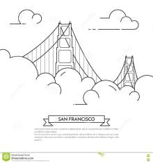 Iconic San Francisco Coloring Book