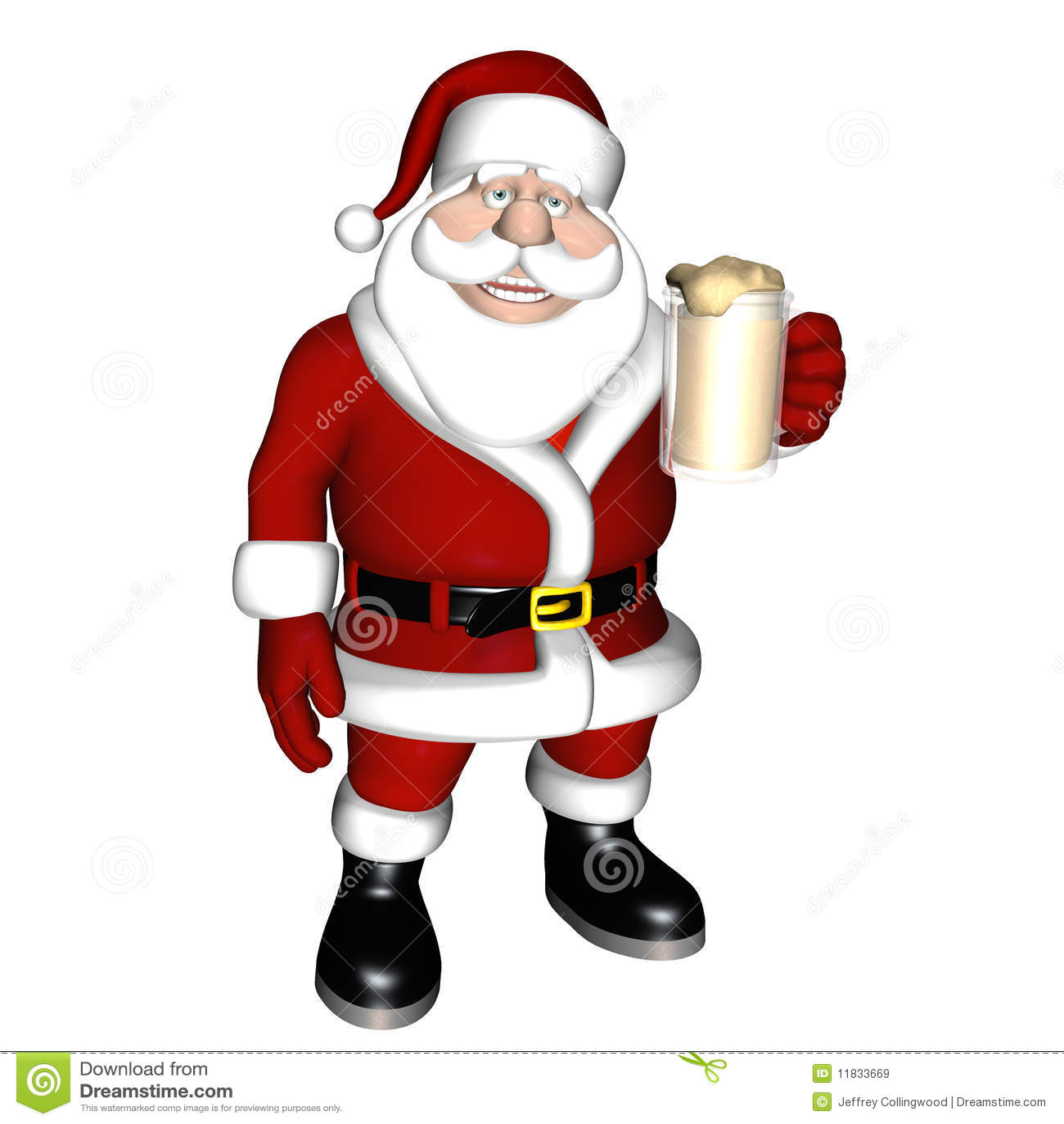 Santa Beer Toast