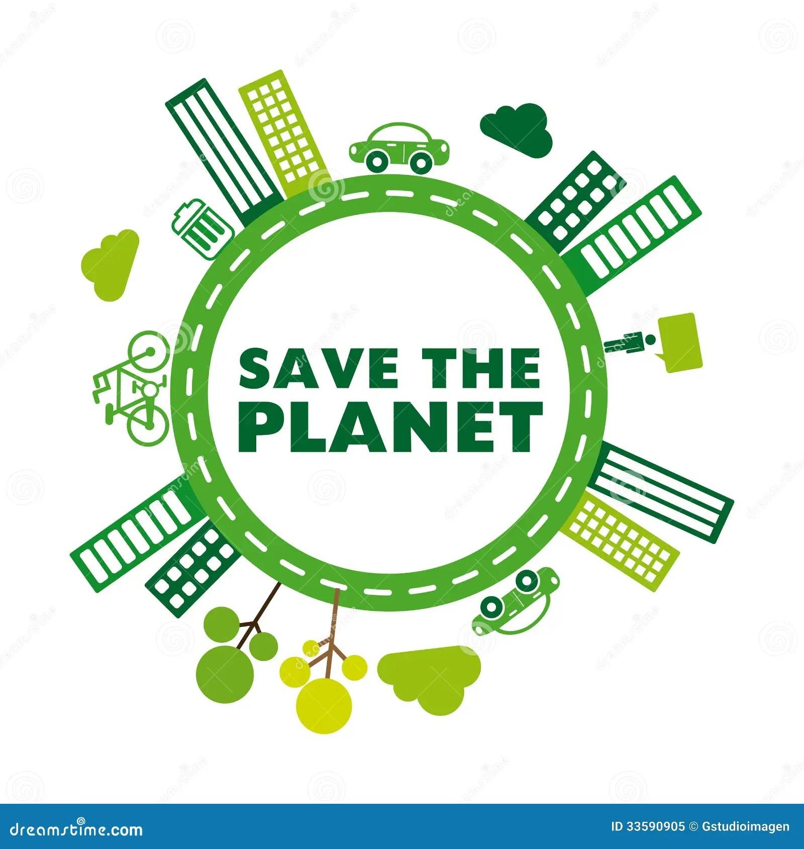 Save The Planet Stock Illustration Illustration Of Label