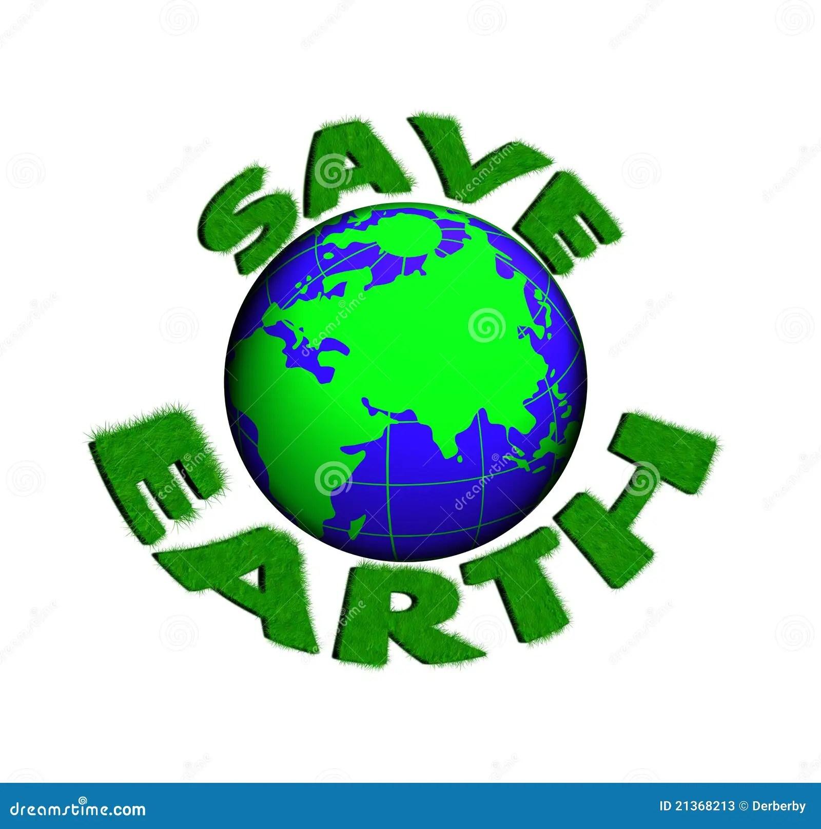 Save Planet Earth Stock Illustration Illustration Of