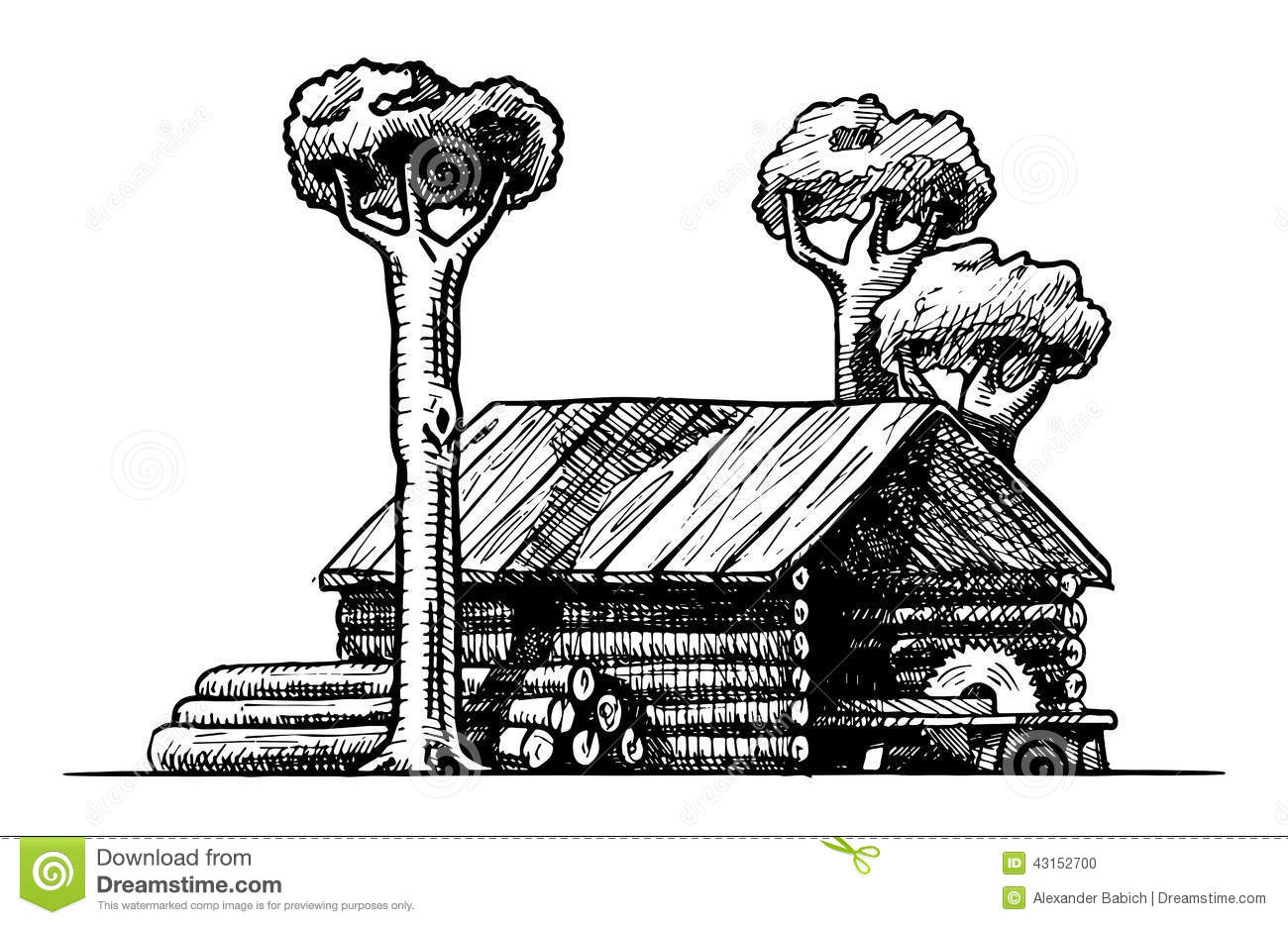 Sawmill Cartoons Illustrations Amp Vector Stock Images