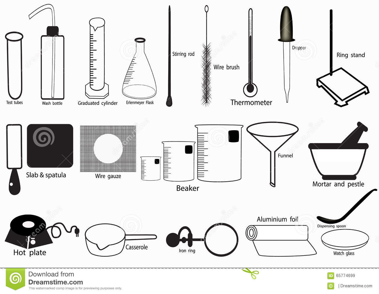 Science Lab Vector Icon Set Chemical Icons Set Chemical