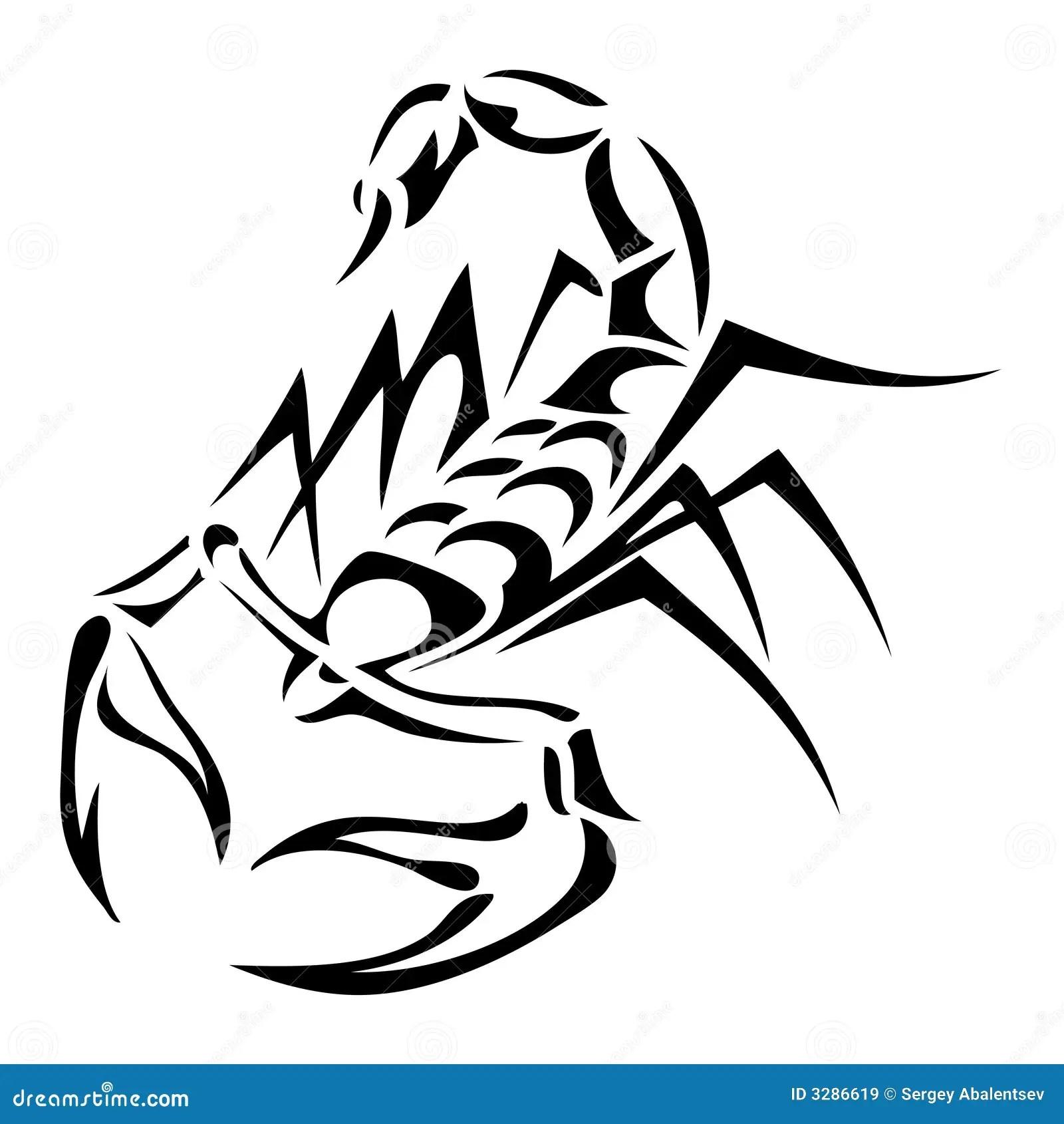 Scorpion Tatoo Stock Vector Image Of Culture Tattoo