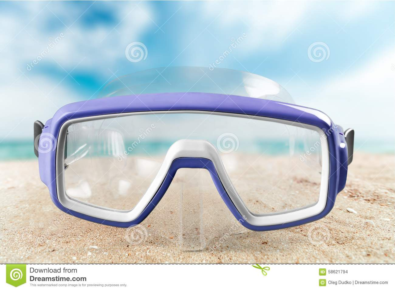 Scuba Mask Stock Photo Image Of Activity Silicone Tempered
