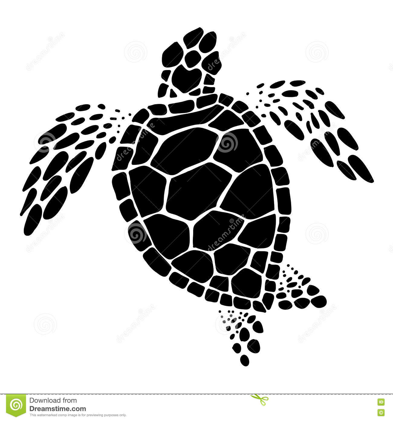 Sea Turtle Silhouette Clip Art Download Free Versions Of T