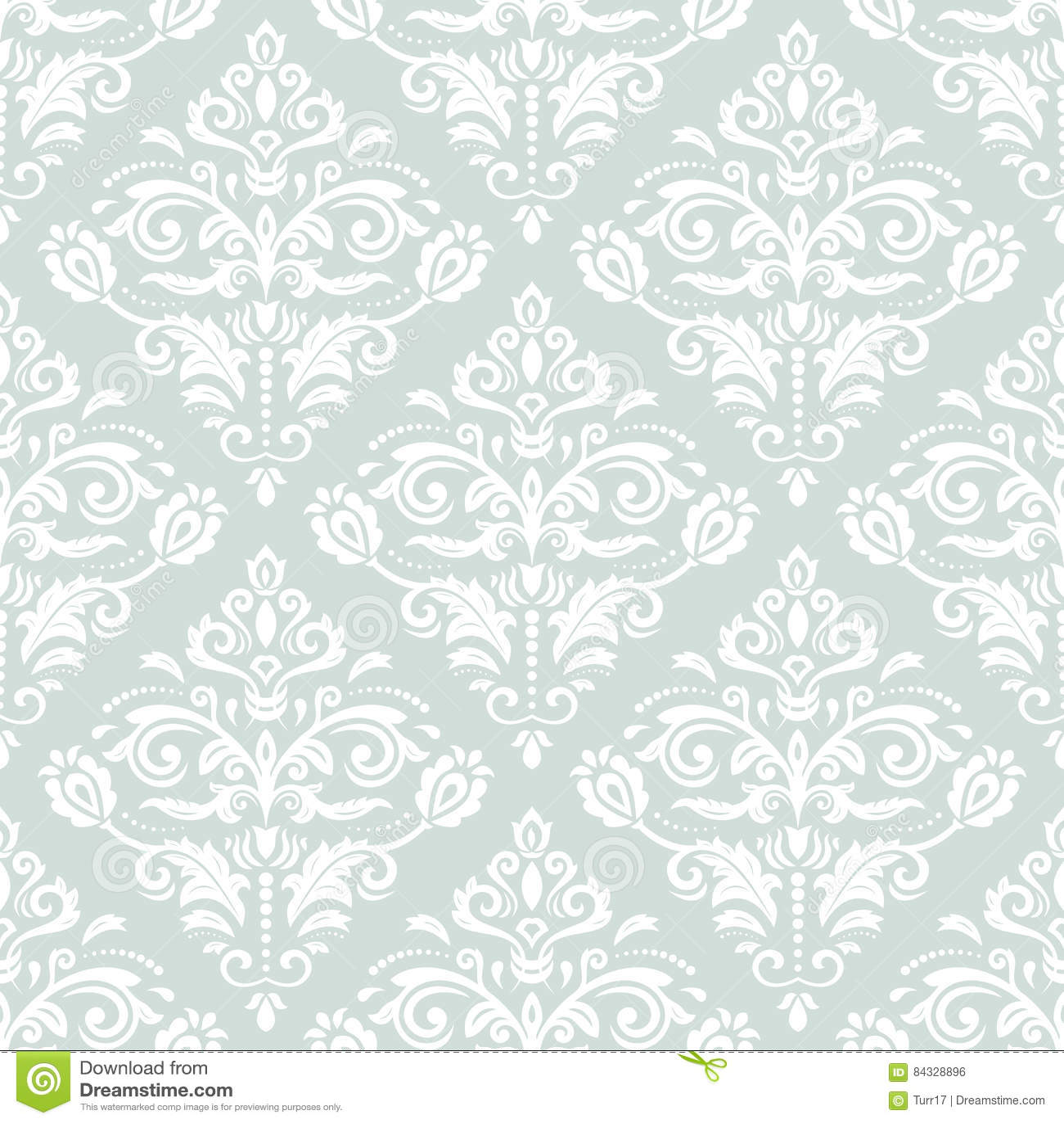 Seamless Elegant Background Stock Illustration