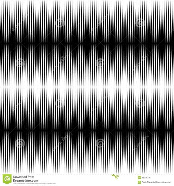 Seamless Horizontal Pattern. Repeat Black And White Lines ...