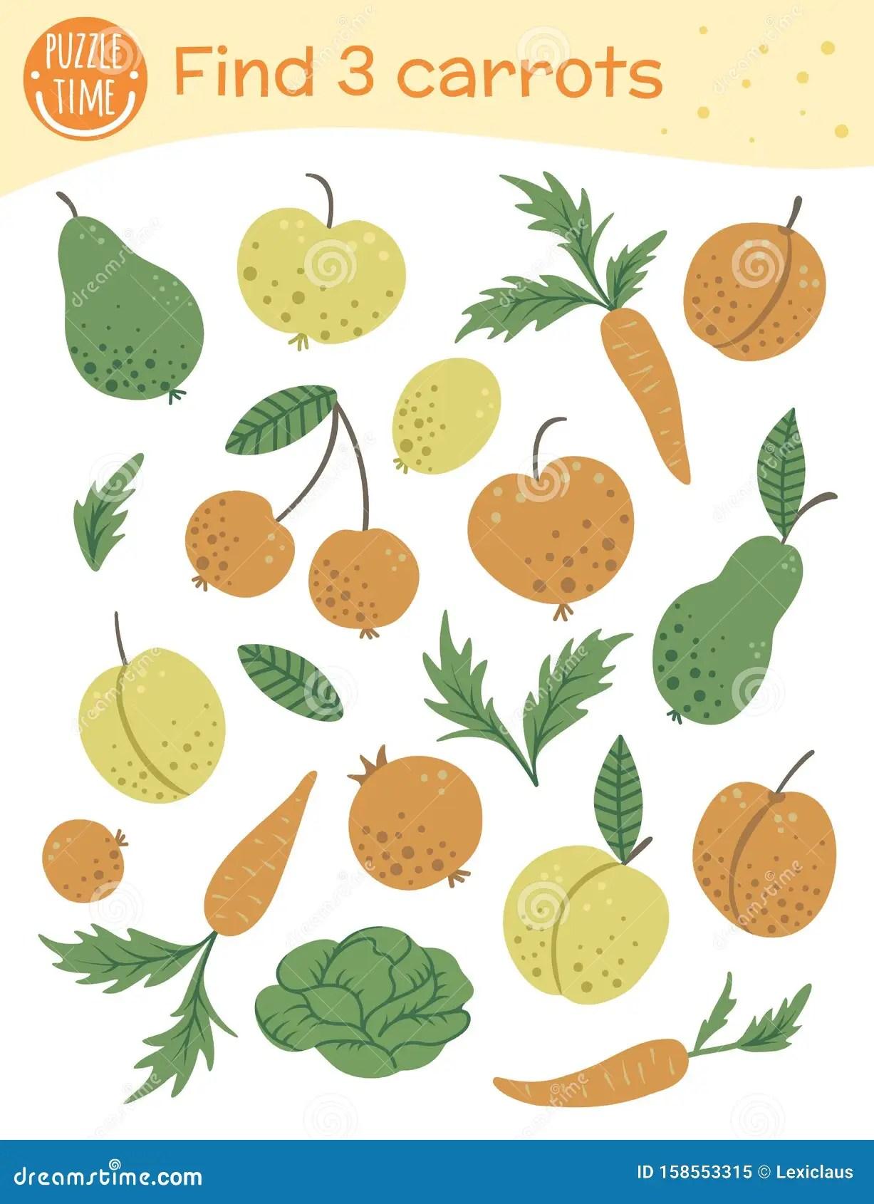 Preschool Worksheet Gallery Preschool Vegetable Matching
