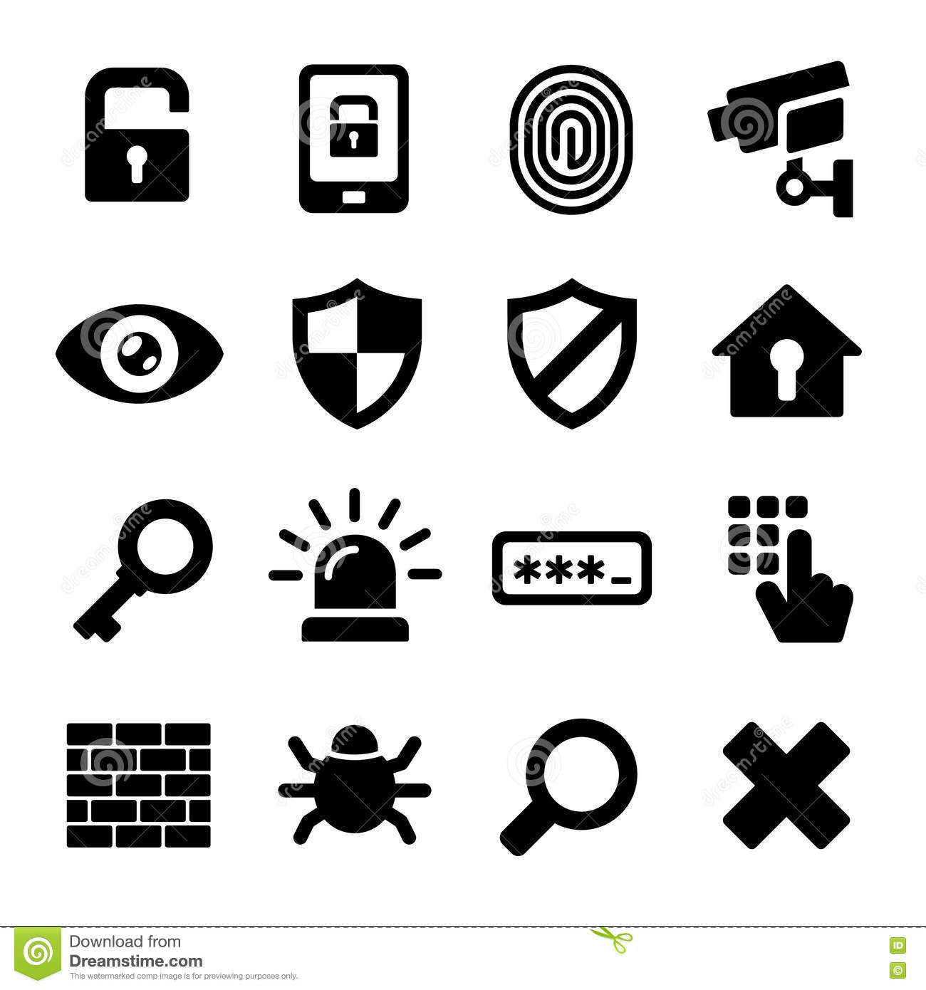 Lifebuoy And Safety Shield Set Icons Vector Illustration