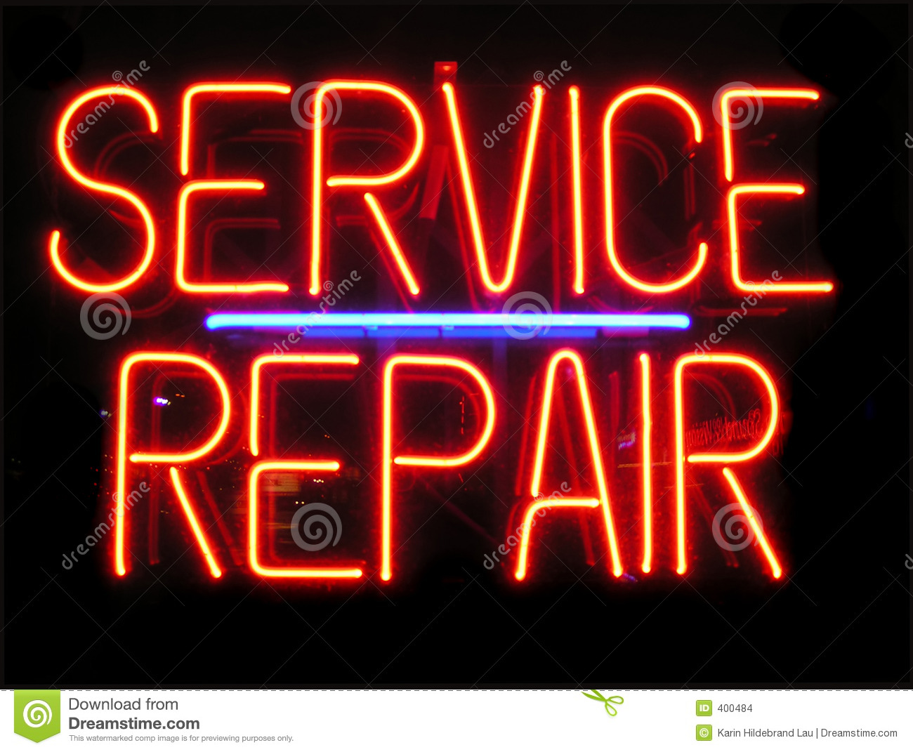 Neon Light Repair