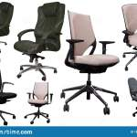 Set Of Office Chairs Stock Photo Image Of Industry 195765080