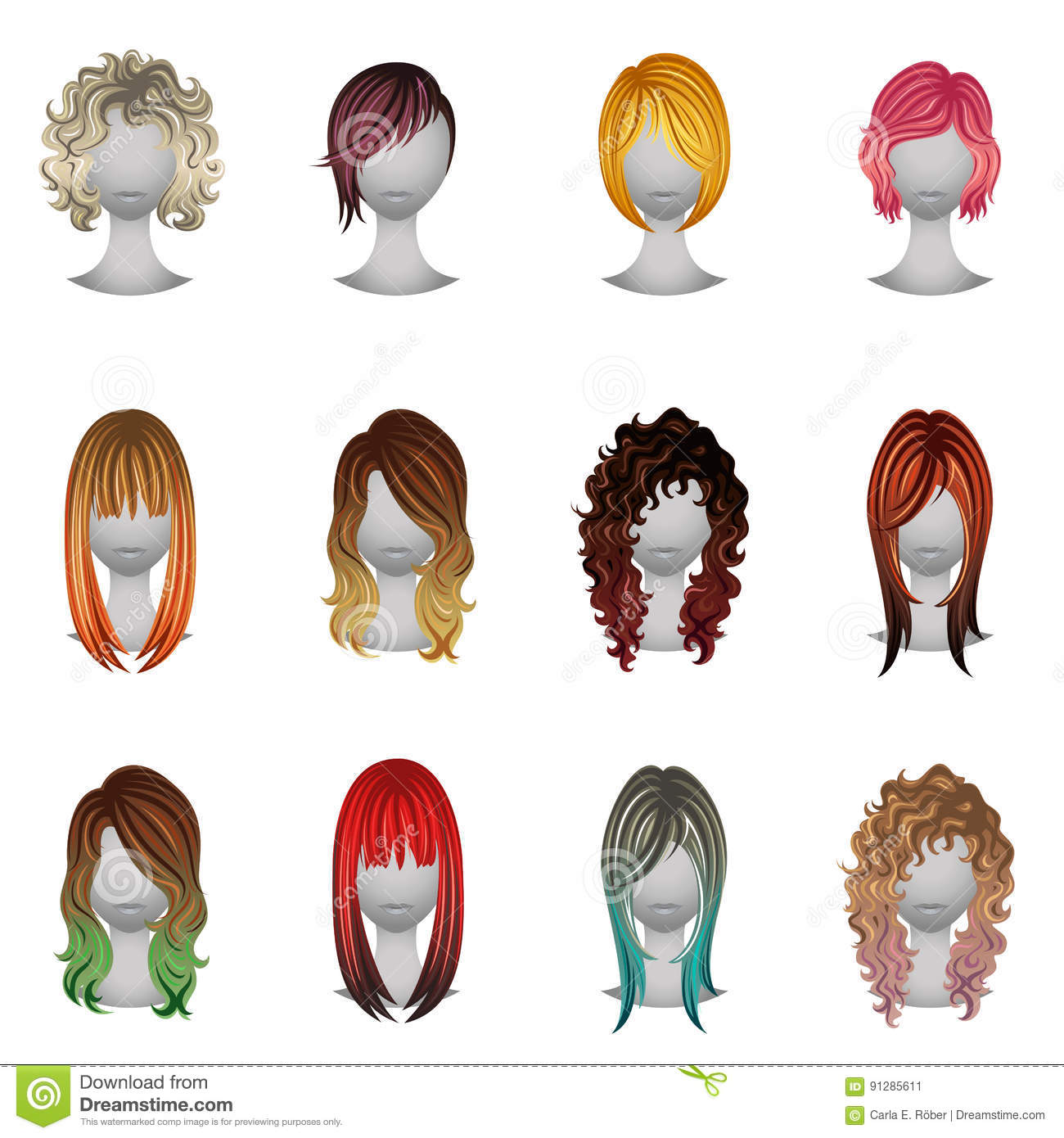 Worksheet Types Of Hair Color