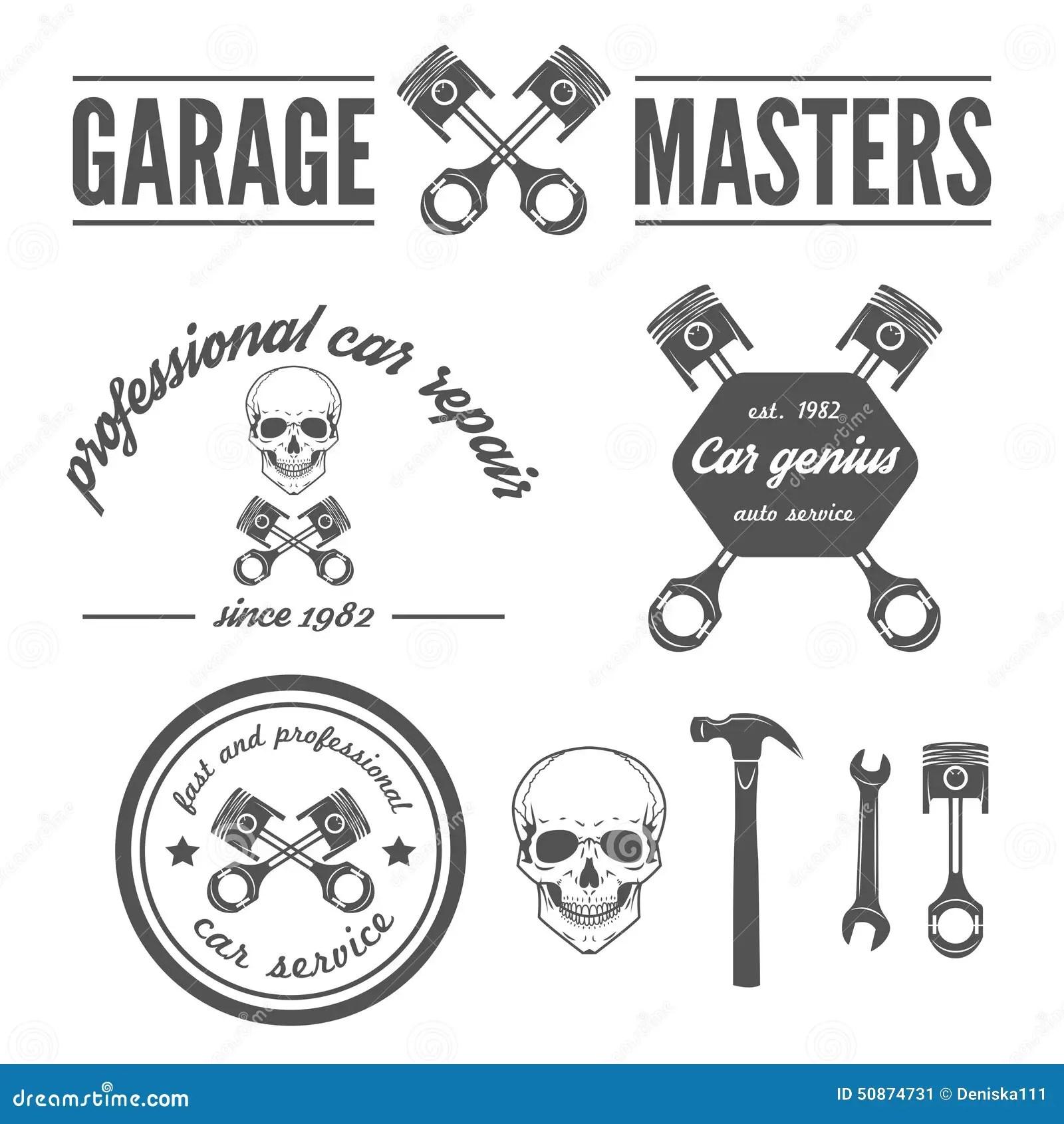 Set Of Logo Badge Emblem And Logotype Element Stock
