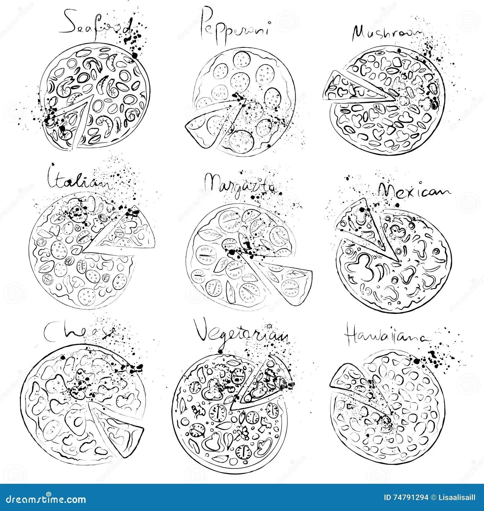 Watercolor Cheese Set Cartoon Vector