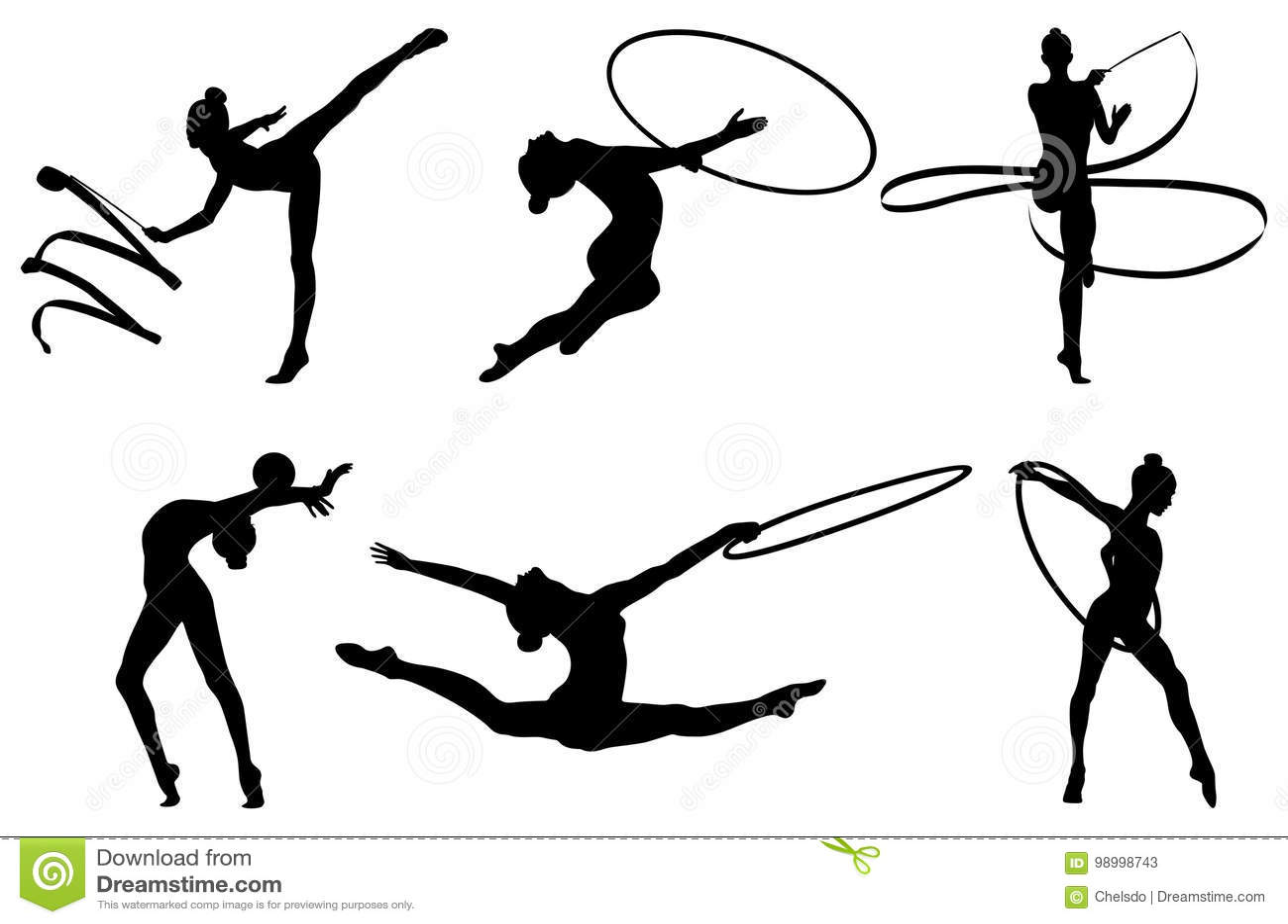 Gymnastics Stock Illustrations 12 448 Gymnastics Stock