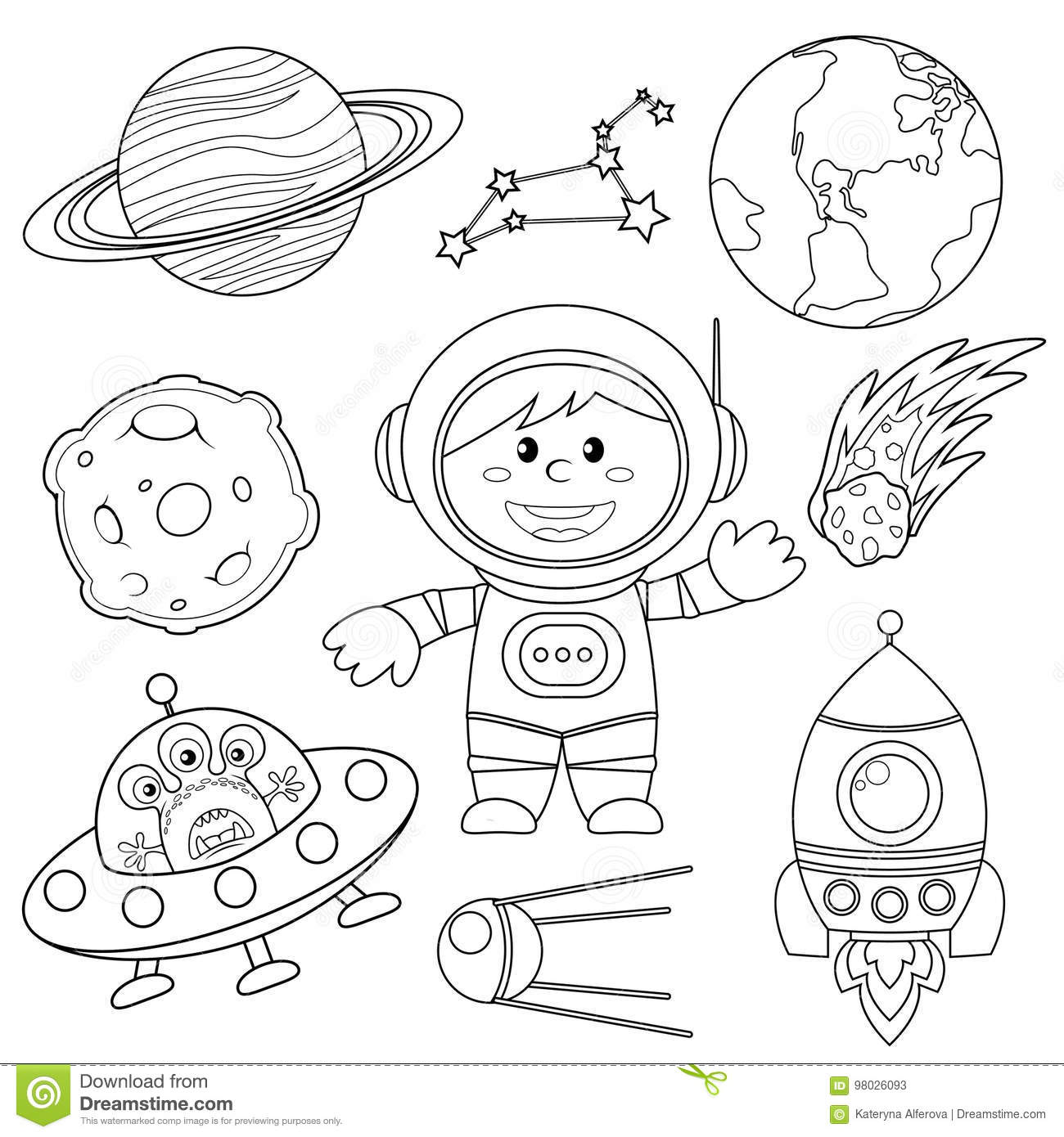 Constellation Cartoons Illustrations Amp Vector Stock Images
