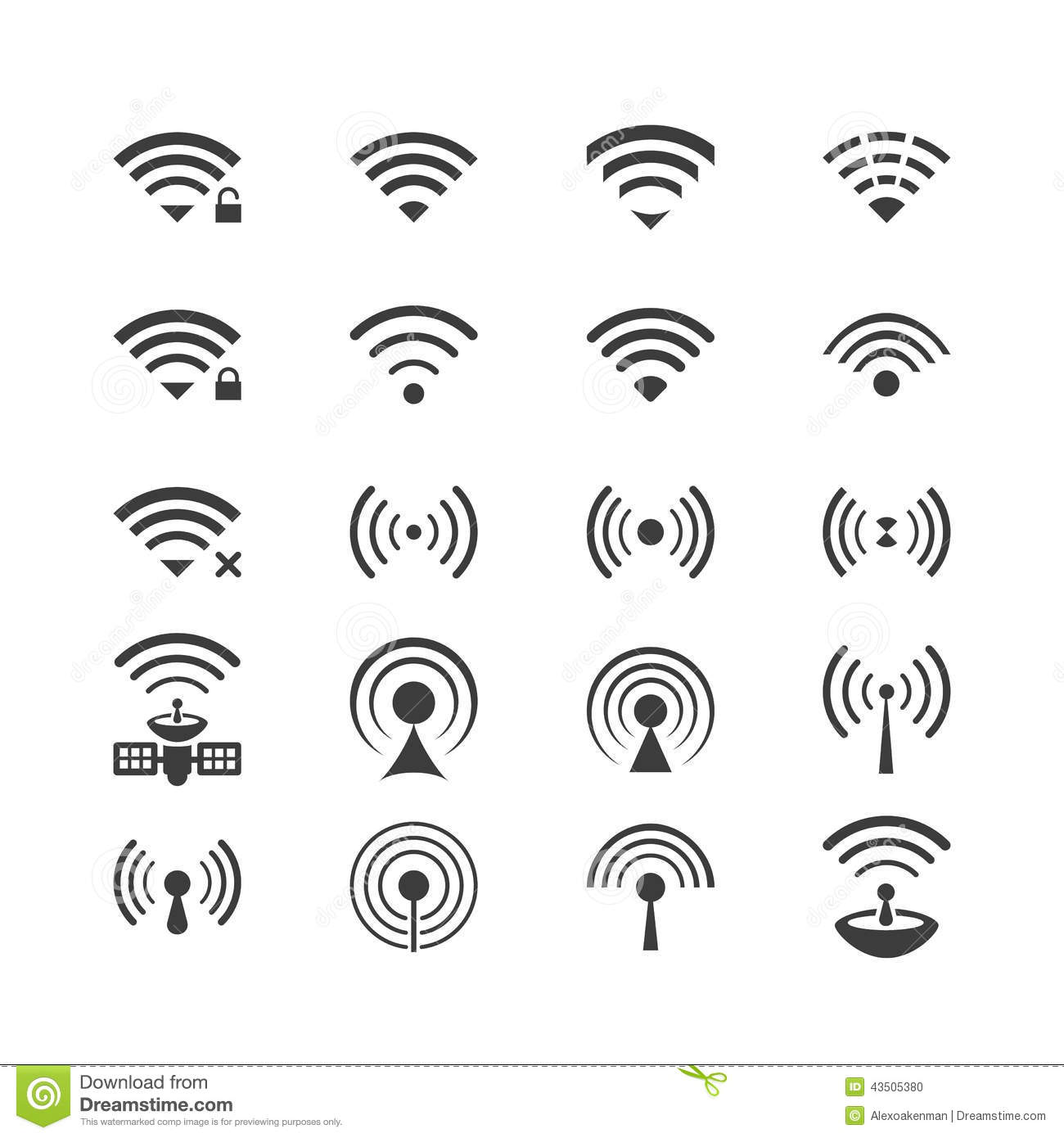 Wireless Access Point Icon