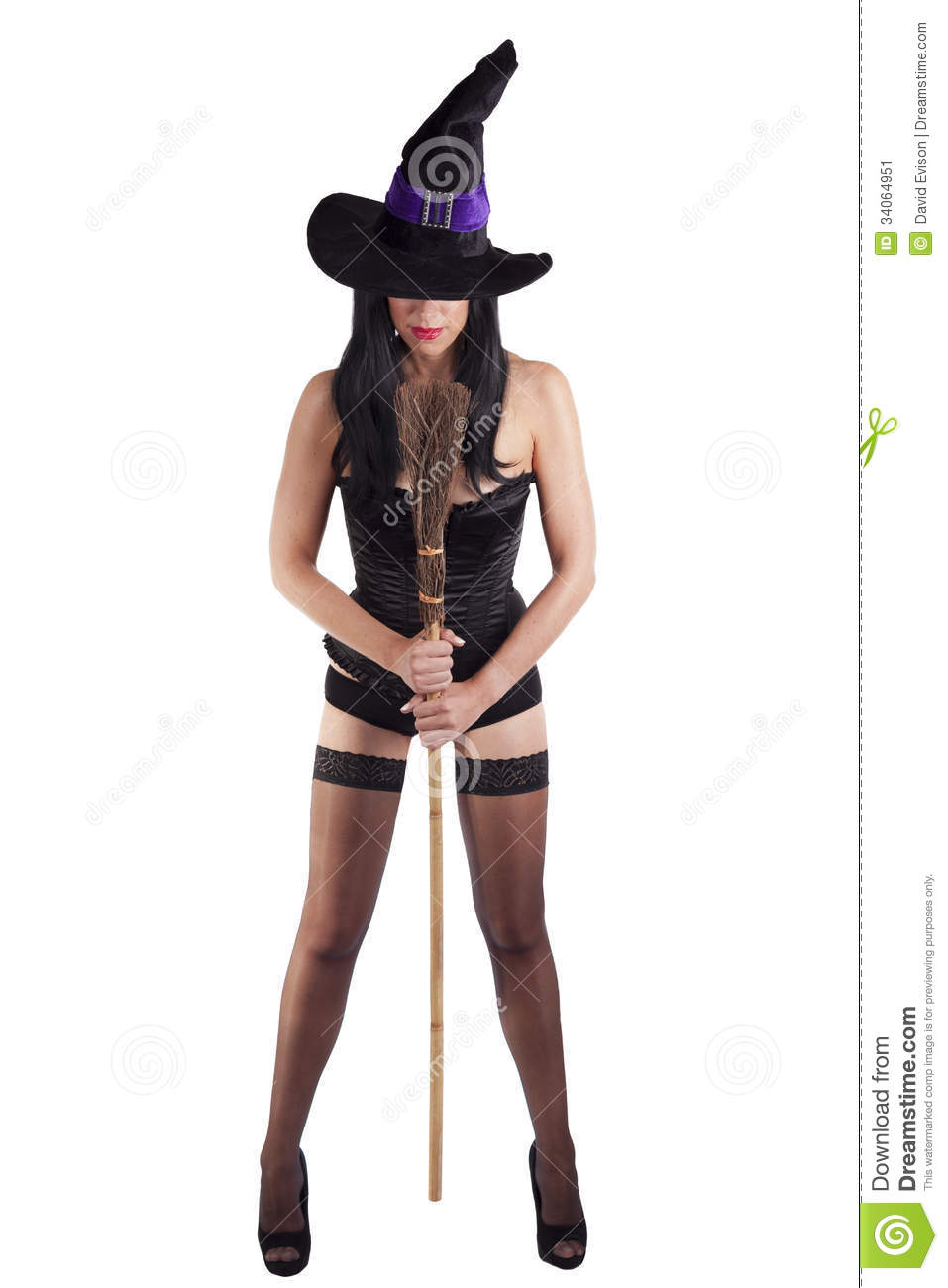 Witch Stock Image Image Of Corset Sexual Glamour